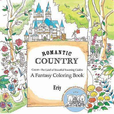 (NEW) Romantic Country : A Coloring Book by Eriy