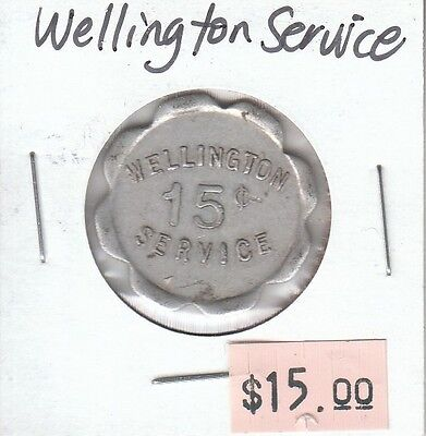 Wellington Service Token - Good for 15 Cents