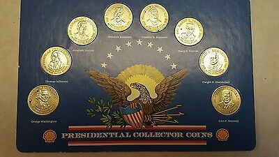 Vintage Shells 1992 Custom Bronze Presidential Collector Coin Set