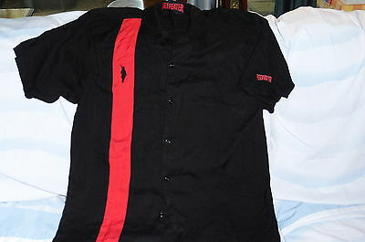 """""""Beefeaters Gin"""" Bowling Style shirt Great design and image(L)"""