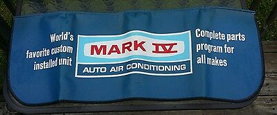 Vintage Mark IV Fender Cover/Pad Auto Air Conditioning Great Shape!