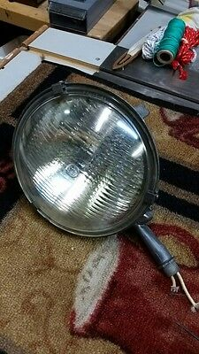 Vintage Steber Spot Light Stage Light Cast Metal Not Crouse Hinds
