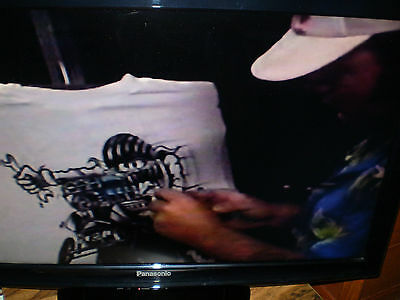 Official Ed Roth Rat Fink How To Airbrush T-shirts with Von Franco dvd