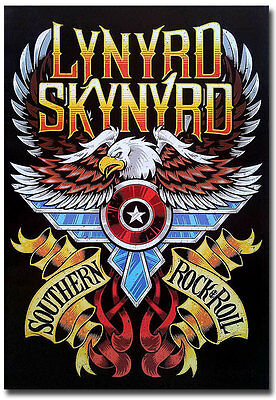 "Lynyrd Skynyrd Southern Blues Hard Rock Fridge Toolbox Magnet Size 2.5"" x 3.5"""