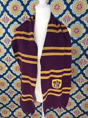 Harry Potter Hogwarts House Gryffindor Scarf Official Merchandise RETIRED colors