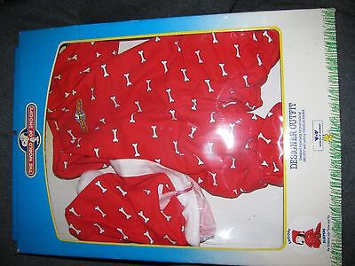 World Of Wonder Talking Snoopy Clothes SLEEPERS Outfit NICE *NO BLANKET*