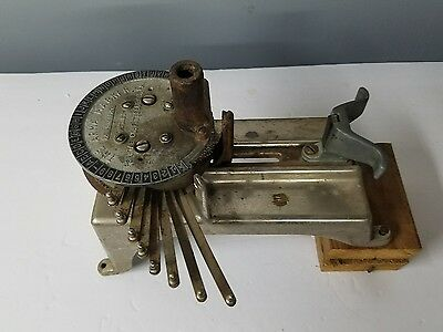 Laundry Marking Machine Arma Marker by P.H.C. Pittsburgh Vintage 1.982.473