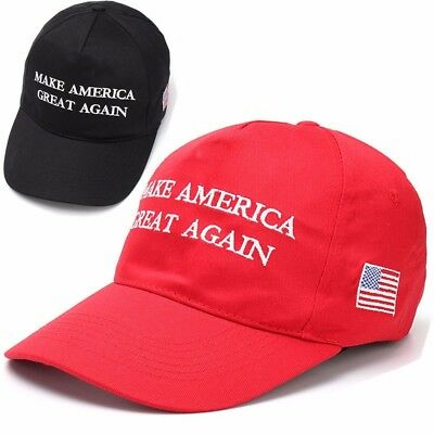 Donald Trump MAKE AMERICA GREAT AGAIN HAT Republican Adjustable Baseball Cap