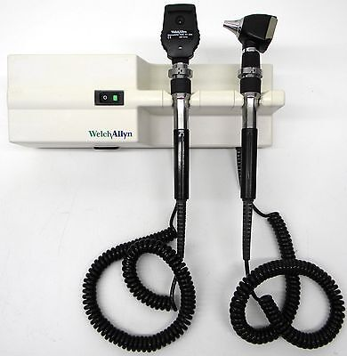 Welch Allyn 76710 Transformer with Heads Otoscope Ophthalmoscope 767 Diagnostic