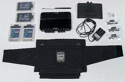 Convergent Design Odyssey 7Q+ OLED Monitor/Recorder, RAW upgrade, 4 SSD, extras