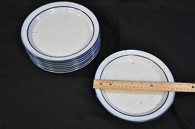 "Dansk International Designs LTD 'Blue Mist' 8 1/2"" Salad Plate Stoneware (SHI)"