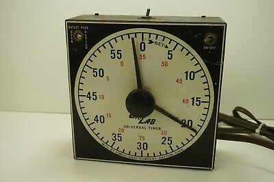 Vintage Dimco-Gray CRALAB Model 165 Universal Photo Timer Darkroom Made in USA