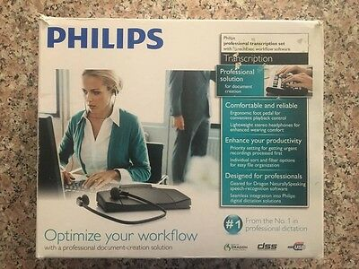 New!  Philips Professional Transcription Set with SpeechExec Workflow Software