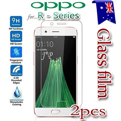 2X Oppo R11 Tempered Glass / Plastic Screen Protector Film Guard for Oppo R11
