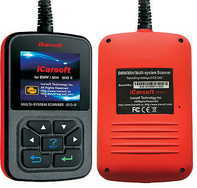 iCarsoft i910-II OBD2 Oil Reset Scan Tool For BMW / MINI Diagnostic Code Reader