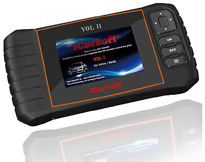 iCarsoft VOL II For VOLVO SAAB OBD2 ABS SRS Oil Reset Diagnostic Scanner Tool