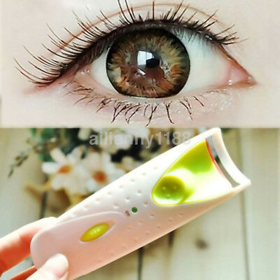 New Electric Automatic Long Lasting Heated Eyelash Eye Lashes Curler Makeup AU