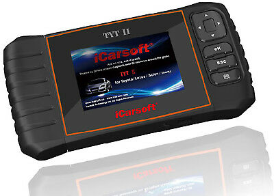 iCarsoft TYTII OBD II Diagnostic Scan Tool For Toyota Lexus & Isuzu ABS SRS Oil