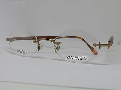 Essence Glasses Occhiali Da Vista Vintage Legno Exotic Wood Frame France Retro