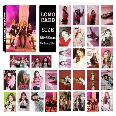 30pcs/box Cute Kpop BLACKPINK As If It's Your Last Photo Card Poster Lomo Cards