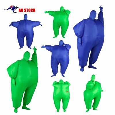 Inflatable Sumo Dress Fat Man And Woman Suite Fat Masked Suit Blow Up Dress GU