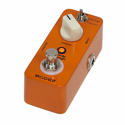 Mooer Ninety Orange Phaser Micro Electric Guitar Effects Pedal True Bypass