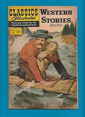 Classics Illustrated Comic Book 1964 Western Stories # 62.  #312