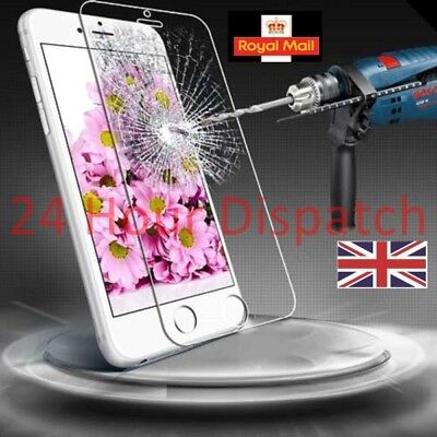 100%Genuine Tempered Glass Screen Protector For Iphone 6/6s  {qb91