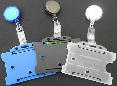 Badge Reel & Id Card Holder NHS police - YoYo Retractable Photo Identity Pass