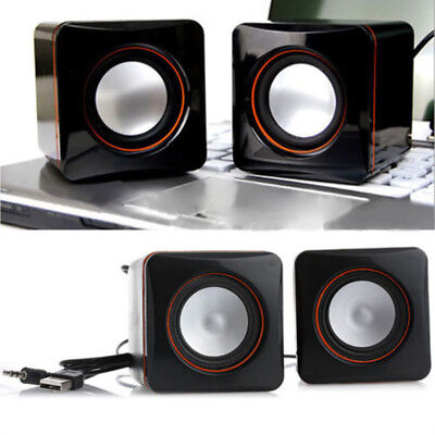 Mini Portable USB Audio Music Player Speaker Pro for iPhone iPad MP3 Laptop PC A