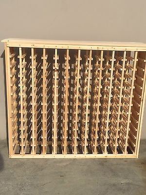 144 Bottle Timber Wine Rack - Great for wine collection storage - SALE PRICE!