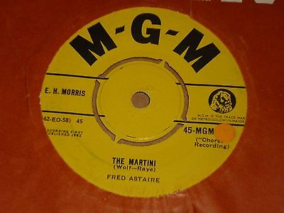 """Fred Astaire """"The Martini"""" MGM 45"""