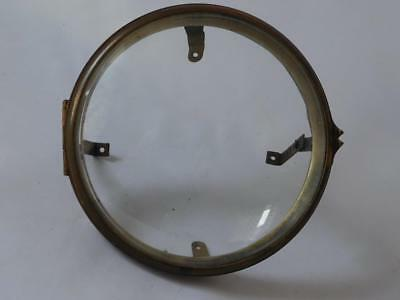 Brass Bezel With Domed And Bevelled Glass
