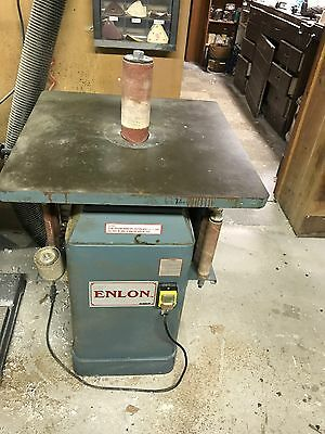 Enlon Oscillating Spindle Sander-Used