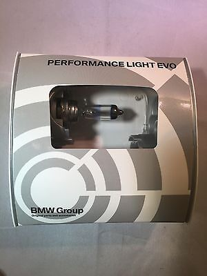 Genuine Bmw Bright Performance H7 55W Power Headlight Bulbs (Pair) 63212408030