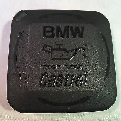 Genuine Bmw Oil Filler Engine Bay Cap New 11127500568