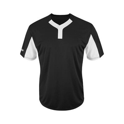 Majestic Athletic Premier Eagle 2 Button Colorblocked Jersey