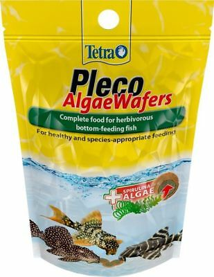 Tetra Bottom Feeding Herbivorous Fish Food Pleco Algae Wafers High Energy - 85g