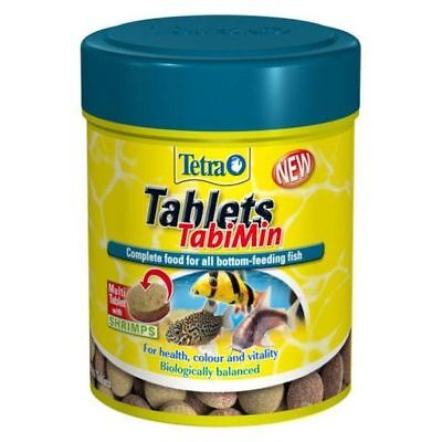 Tetra Tabimin Sinking Food Bottom Feeding Tropical Fish Catfish - 120 Tablets