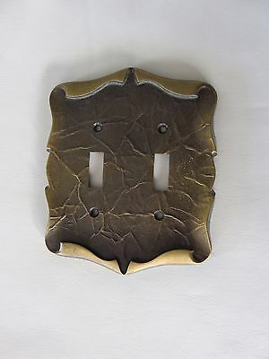 Amerock Double Toggle Light Switch Plate Cover Carriage House Antique Brass