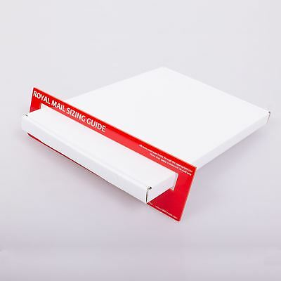 50x C4 White A4 BOX LARGE LETTER STRONG CARDBOARD SHIPPING MAILING POSTAL PIP