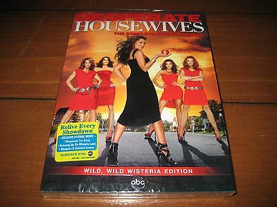 Desperate Housewives: The Complete Seventh Season (DVD, 5-Disc Set) BRAND NEW!