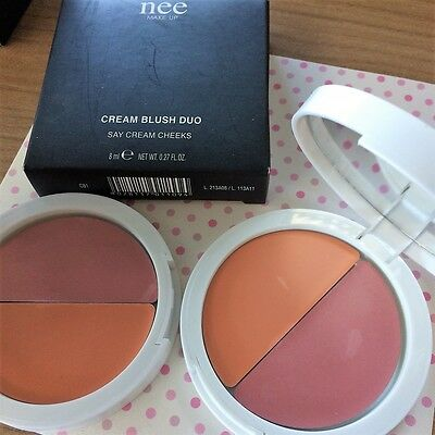 Nee Make Up Cream Blush Duo Ii Scelta Fard Crema Cream Cheeks Difettato