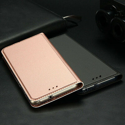 Luxury Slim Leather Flip Wallet Magnetic Case Cover For Samsung Galaxy J5/J7/S8+