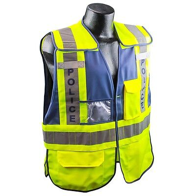 Full Source Reflective POLICE Public Safety Vest