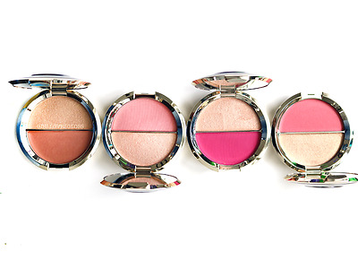 BECCA Jaclyn Hill Champagne Splits Shimmering Skin Perfector Blush Four Colours