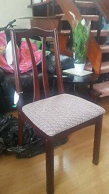 Brand New Mahogany Dining Chairs (45 available) (message for smaller quantities)