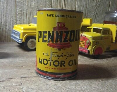 Rare Pennzoil United Air Lines Uses Pennzoil Exclusively Oil Can