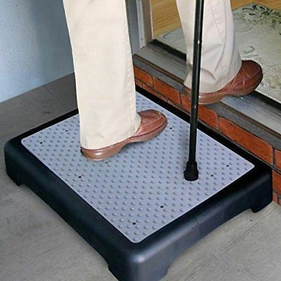 New Half Step Stool Anti Slip Elderly Disability Door Walk Mobility Aid Outdoor