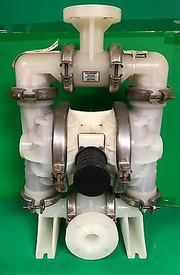 "Wilden 1-1/2"" Turbo-Flow Double Diaphragm Pump T4/PPPB/WF/WF/PTV - Rebuilt 2014"